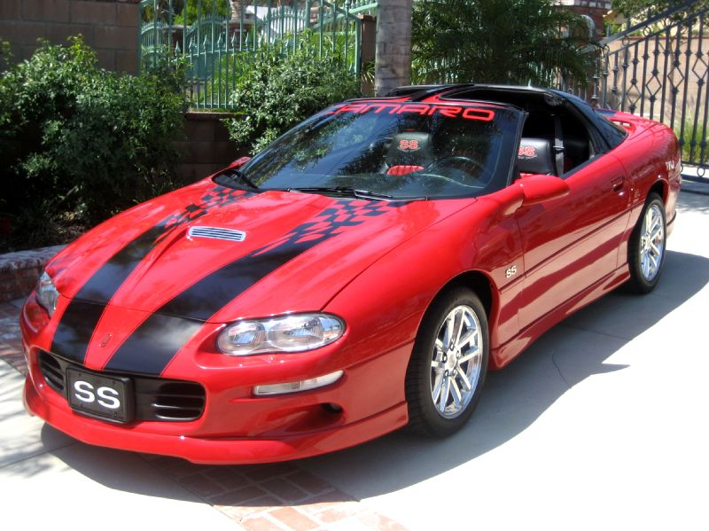 50 2002 Chevy Camaro 35th Anniversary Z28 W Custom Ss Package T Top 63k Miles Must See