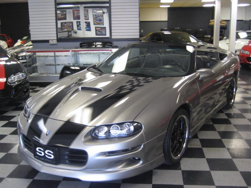 76 1999 CHEVY CAMARO CONVERTIBLE SS WITH 345HP SLP PACKAGE 60K