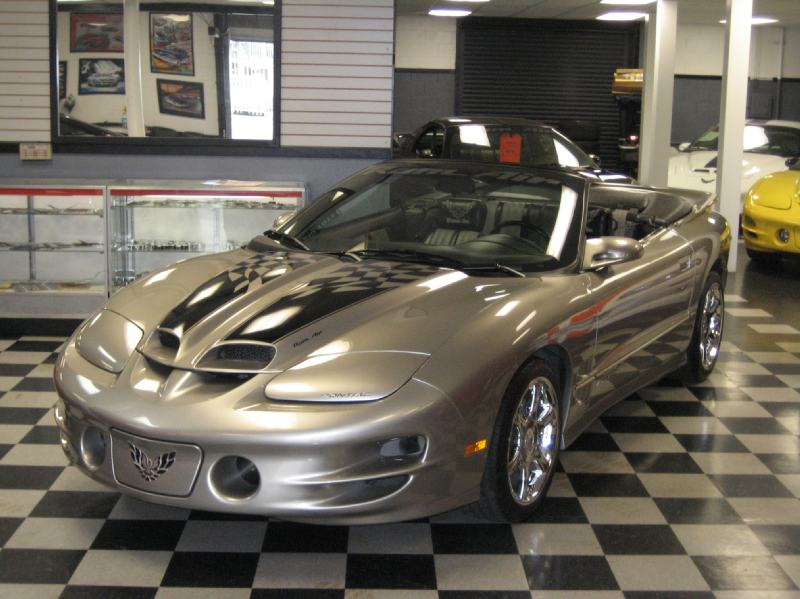 2002 Pontiac Trans Am Convertible With Custom Ws6 Package