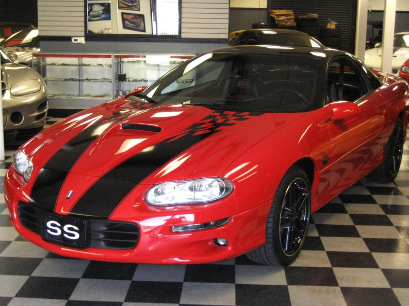 81 2002 35TH ANNIVERSARY CHEVY CAMARO SS HARD TOP 6 SPEED WITH SLP ...