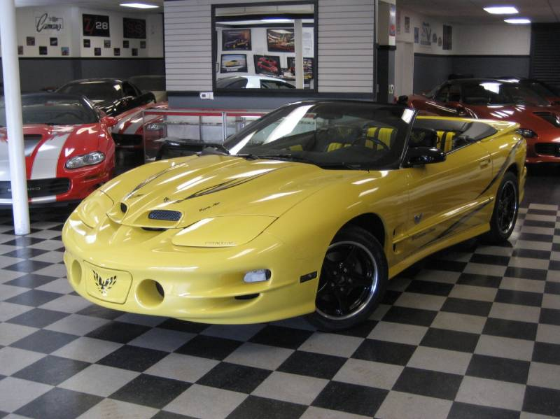 2002 trans am collectors edition parts